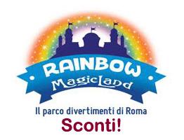 Sconto prezzo biglietti Rainbow Magicland